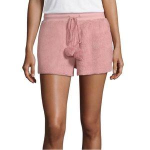 NWT Lot of 2 Ambrielle Cozy Pom Pom Pajama Shorts